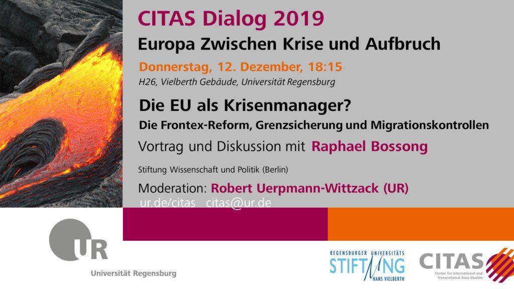 Citas Dialog 2019: Europa zwischen Krise und Aufbruch